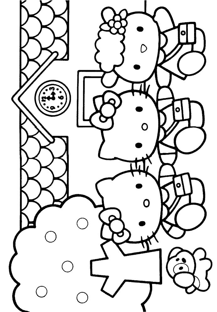 Elegant Gator Coloring Pages 80 Free Printable Hello Kitty