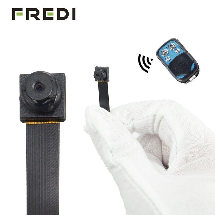 FREDI HD 1080P 720P Mini Super Small Portable Hidden Spy Camera Loop Video Re...