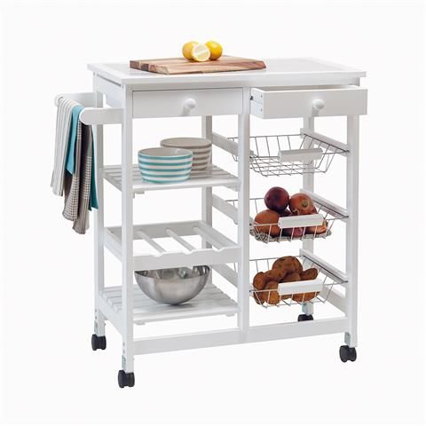 Tile Top Kitchen Trolley | Kmart Australia - A perfect addition to our kitchen.