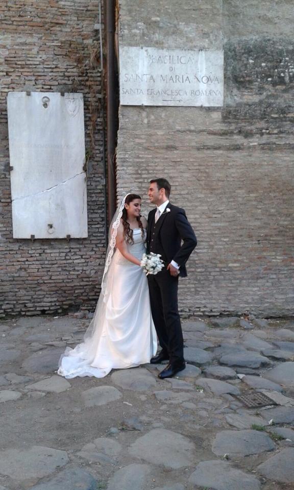 L'abito scelto da Veronica Pota. www.cinziaferri.com