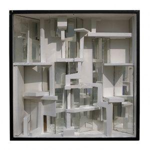 Constant Nieuwenhuys - Diorama II - 1962 (New Babylon, Collectie Gemeentemuseum Den Haag)