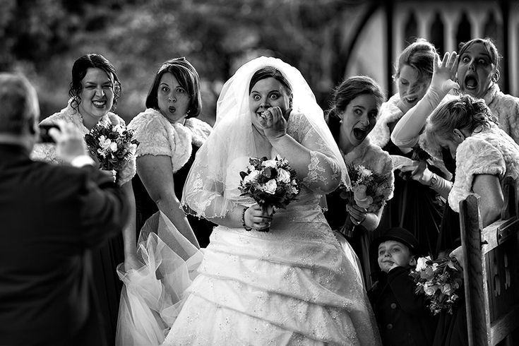 HUMOR 1st Place ISPWP Wedding Photography Competition