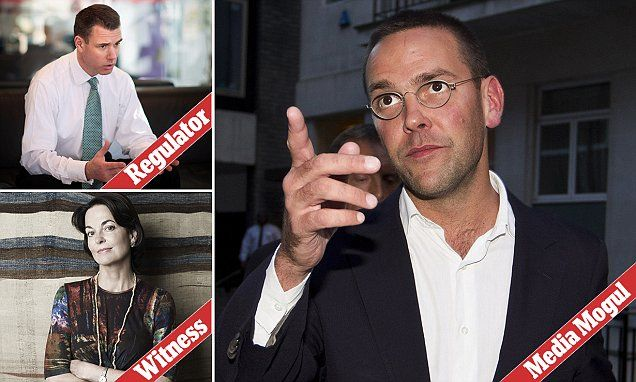 Astonishing threat made by James Murdoch to Ofcom head over BSkyB bid