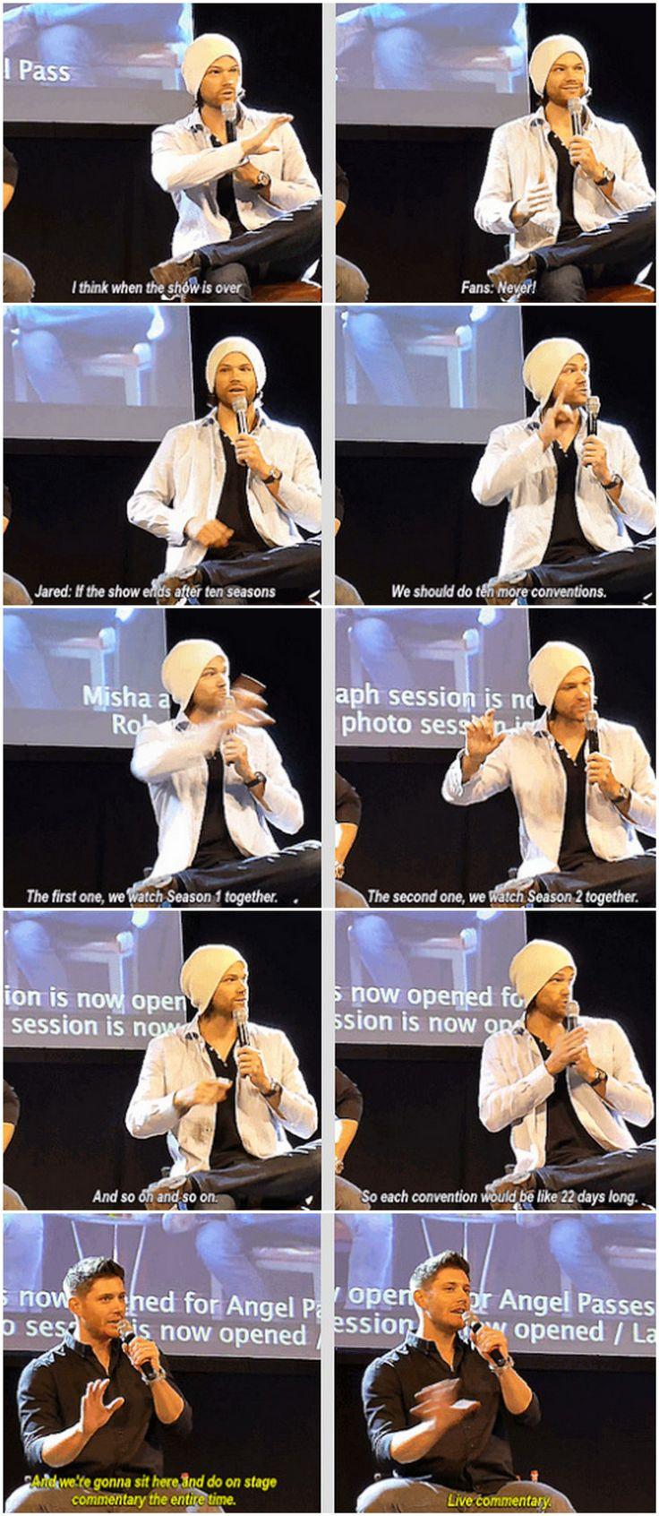 #JibCon14 #Jensen #Jared
