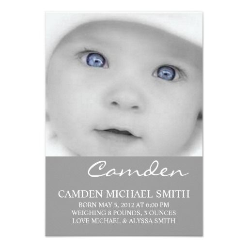 83 best birth announcement images on pinterest births baby girl photo birth announcement names stopboris Choice Image