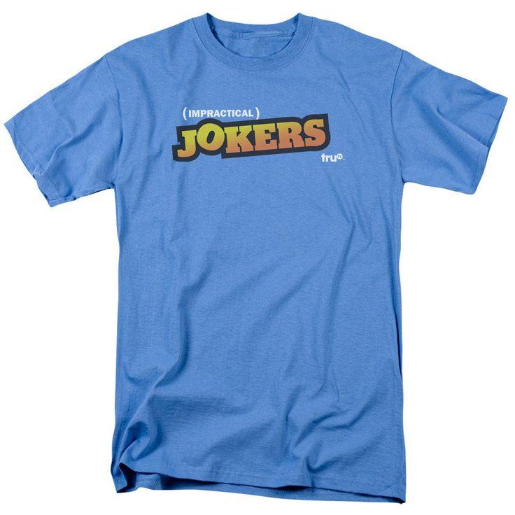 truTV Impractical Jokers Jokers Logo Adult Carolina Blue T-Shirt