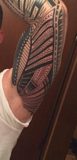 Tribal,sleeve tattoo