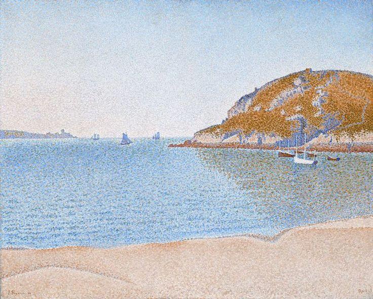 Paul Signac, «Saint-Cast» - 1890