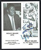 Wesley Walker New York Jets Cards