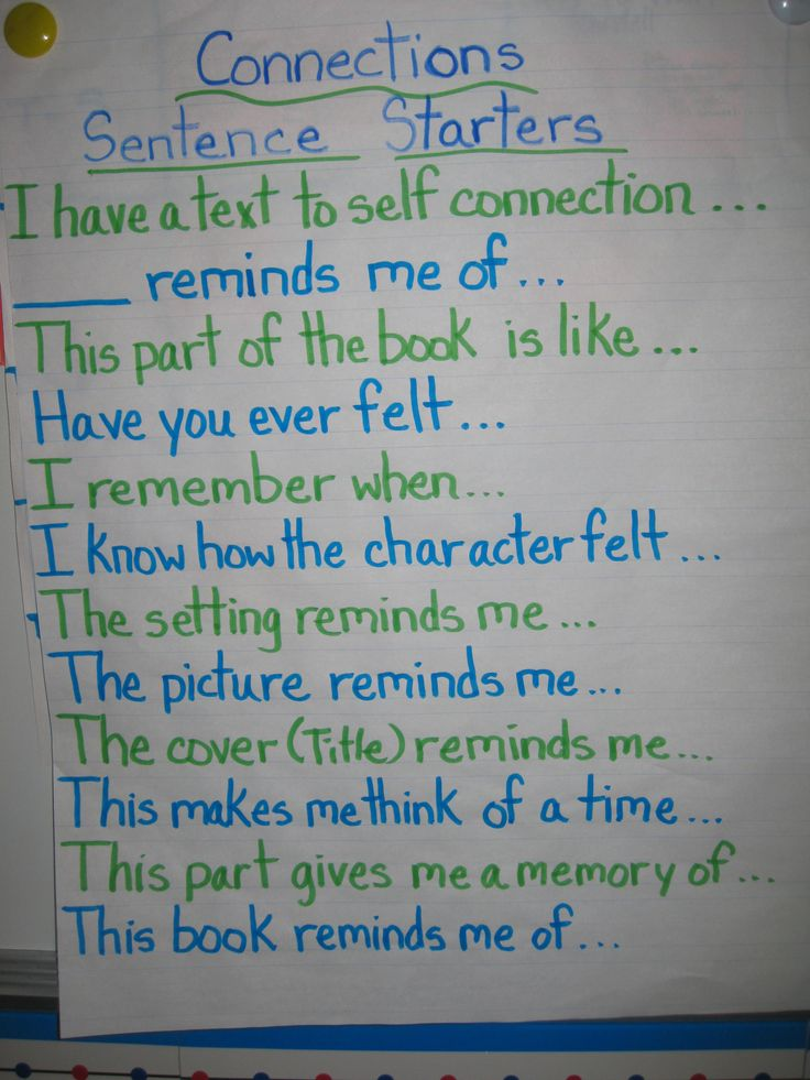 Making Connections - maybe something like this could lead to more direct connections. I swear my students can connect two very different things just to talk about what they did over the weekend during reading. :) :) Gotta love 'em!