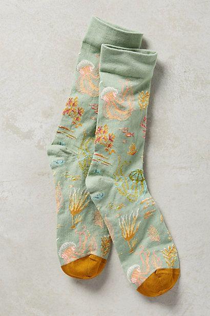 Jelly Socks #anthropologie