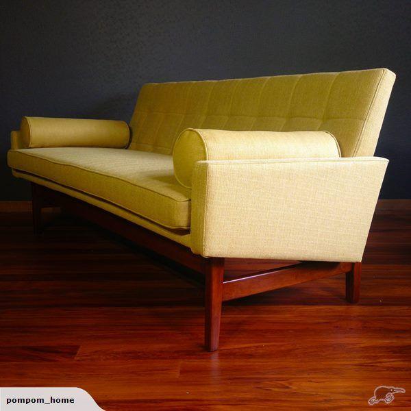 "An iconic Fred Lowen design ""Fler"" mid-century sofa."