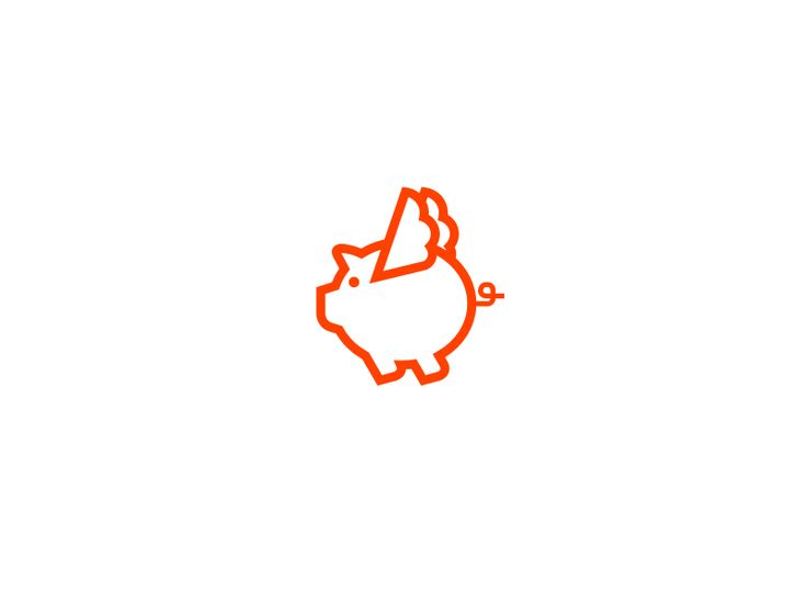 Flying Pig | Icon/Logo | Pinterest | Pigs and Flying pig