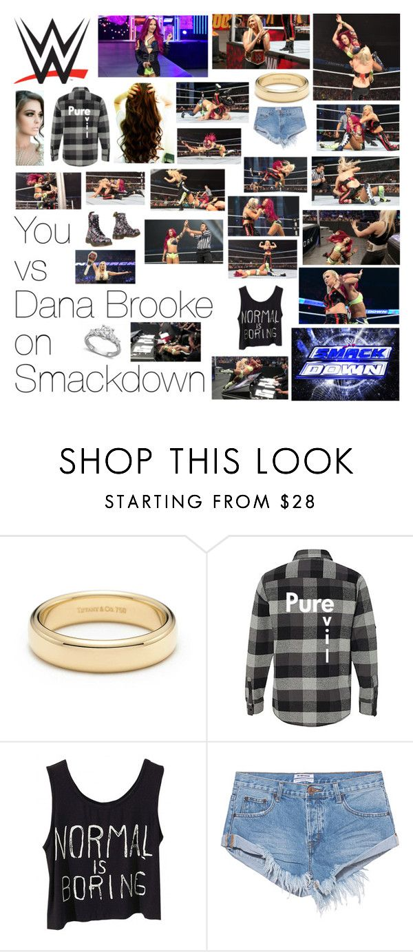 """""""You vs Dana Brooke on Smackdown"""" by wwediva72 ❤ liked on Polyvore featuring beauty, By Charlotte, Tiffany & Co., One Teaspoon and Dr. Martens"""
