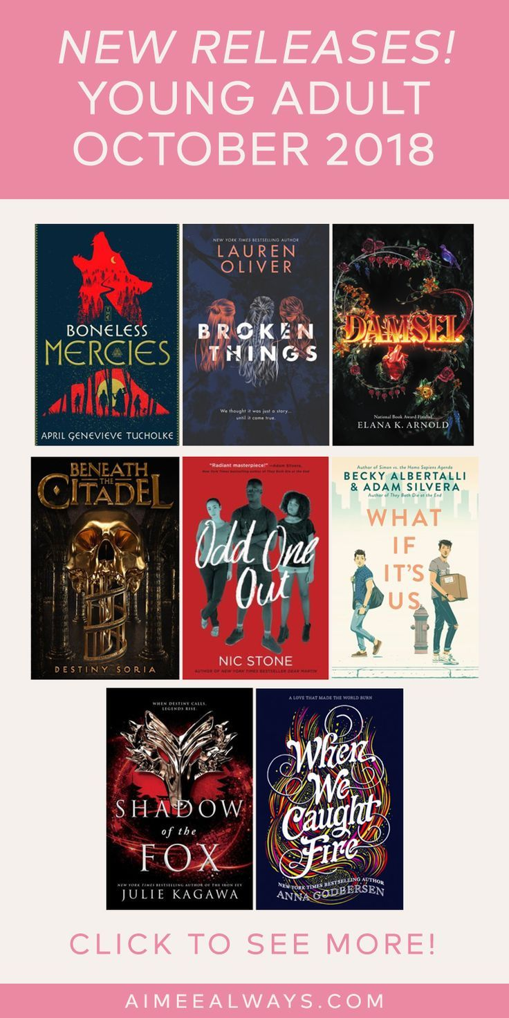 Young Adult Books News New Releases For October 2018  Books For Teens, Books To Read 2018 -2871