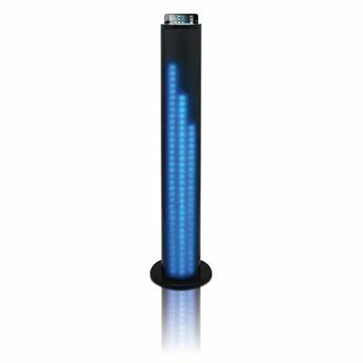 TAKARA SL510BT Enceinte bluetooth tour 2.1 / Station d'accueil - Fonction Bluetooth Audio Streaming (AD2P) - Fonction Radio FM Stéréo - Port USB - Lecteur de carte mémoire - Afficheur LED ...