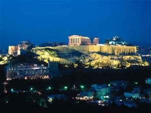 acropolis of athens at night - Yahoo Image Search Results