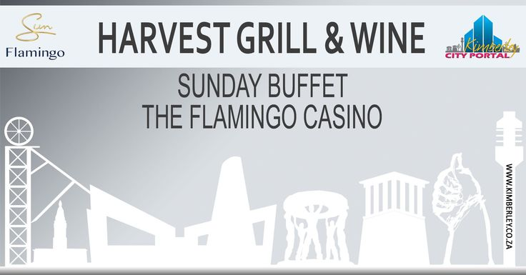Sunday Buffet @ Harvest Grill & Wine - http://www.kimberley.co.za/events/kimberley/specials-and-promotions-where-to-eat/sunday-buffet-harvest-grill-wine/?utm_source=PN&utm_medium=Kby+City+Portal+Events&utm_campaign=SNAP%2Bfrom%2BKimberley+City+Portal