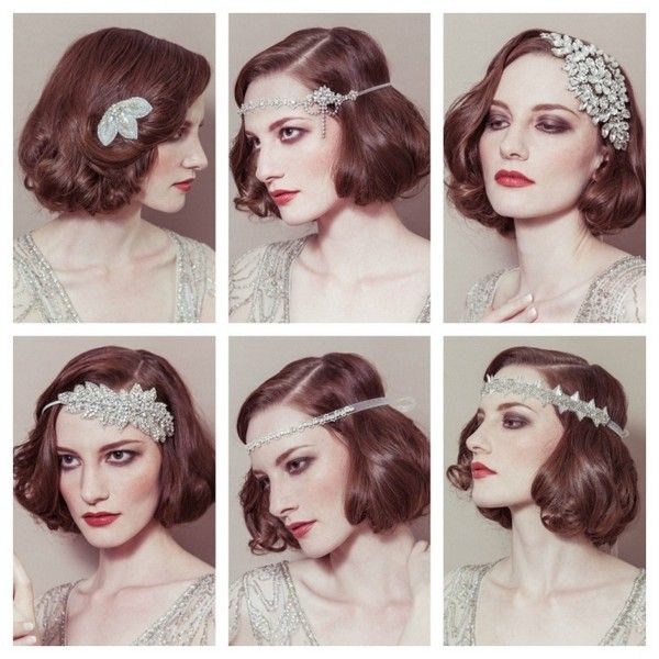 Vintage hair accessories - 1920s inspired