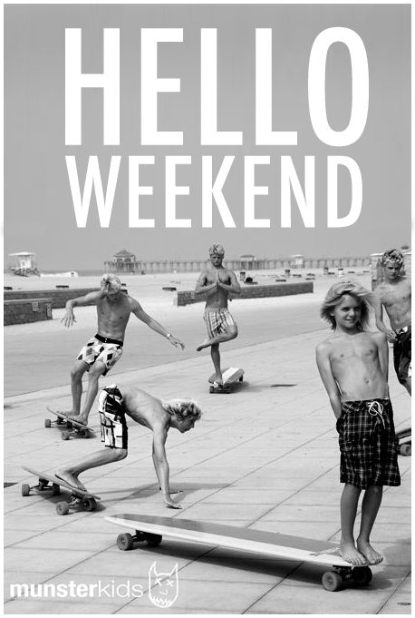 Oh yes!! hello weekend
