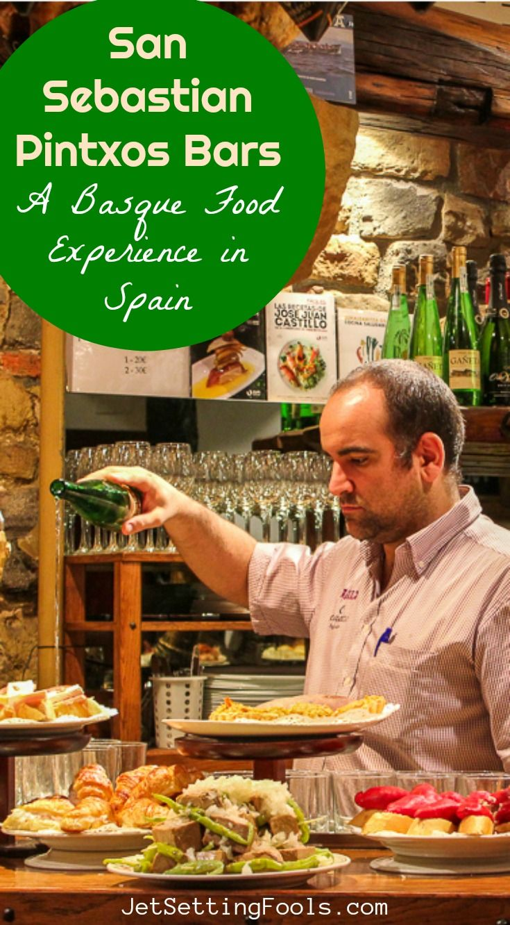 One of the things we were most looking forward to while visiting Basque Country was eating Basque food…and we were especially interested in bar pintxos. The culinary treasures are a regional specialty and we heard we could find the best of the best in San Sebastian pintxos bars.