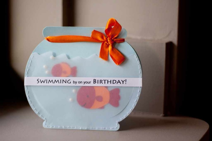 #birthdayparty invitation -- this would be fitting with the rainbow trout cupcakes . . .