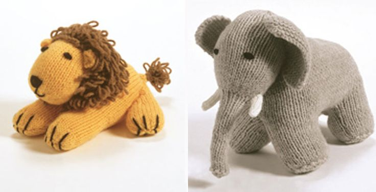 Knitting Pattern Of The Week Noah S Ark Toy Animals