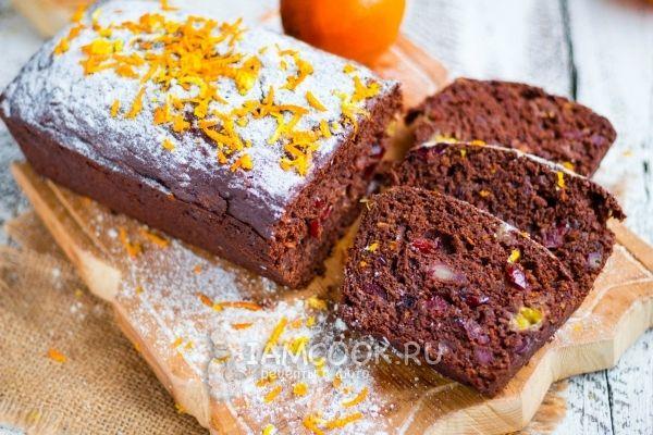 Рецепт веганского «Пряничного» хлеба (фруктового, без сахара)
