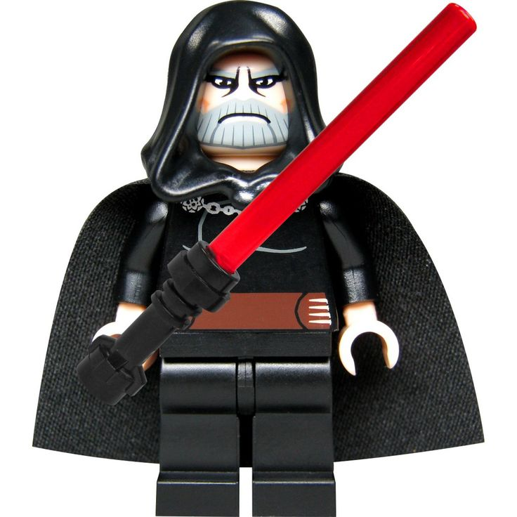 count dooku lego | LEGO-Star-Wars-Custom-Figur-Sith-Lord ...