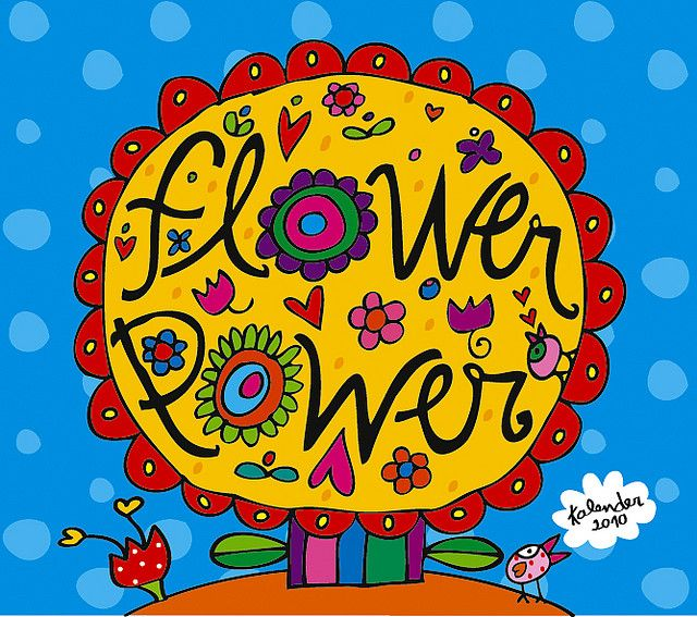 hippies flower power