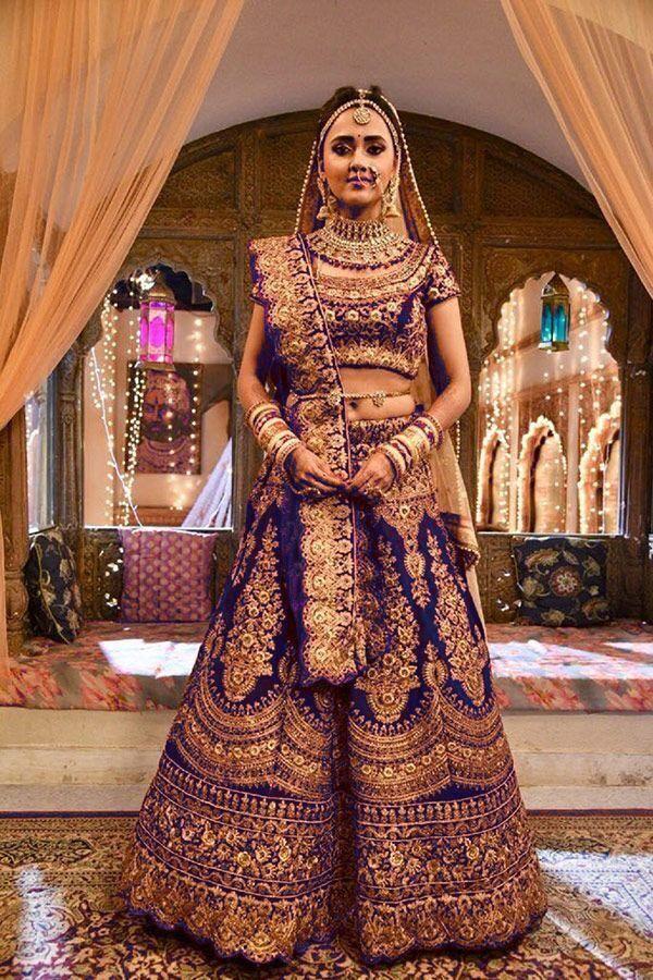 ff0548d1ff A567-Exclusive Designer Beautiful Blue Color Bridal Lehenga Choli in 2019 |  Bridal Lehenga | Bridal lehenga choli, Bridal lehenga, Bridal outfits