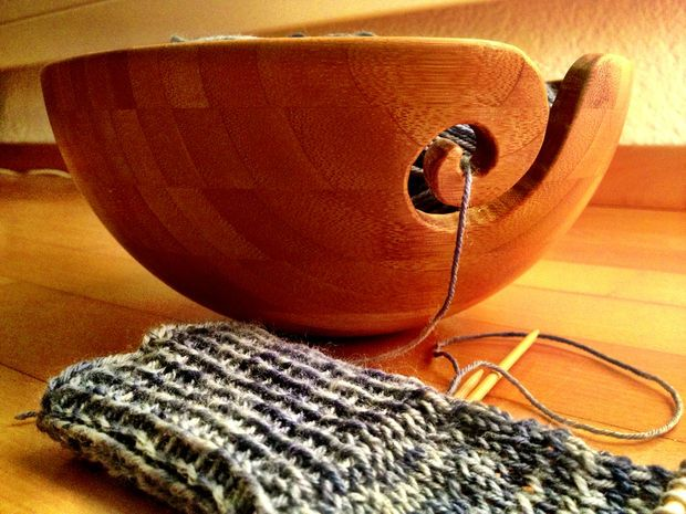 how to make a wooden yarn bowl