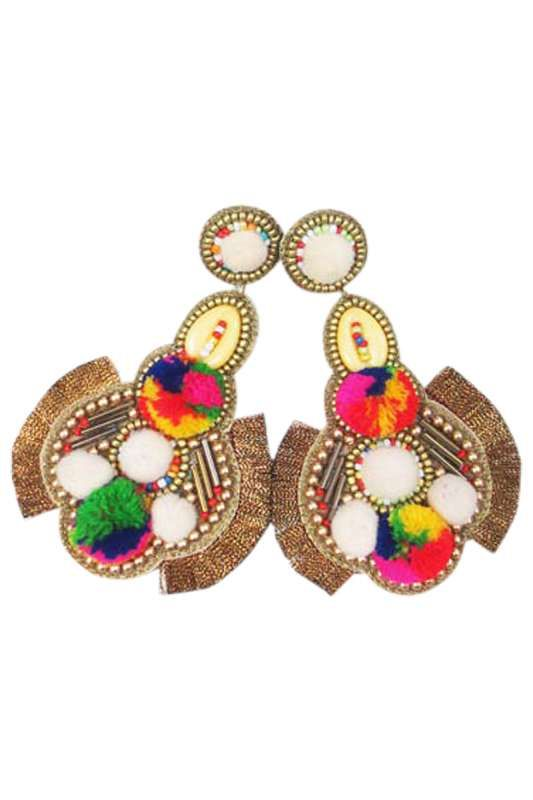 Eb & Ive - Ra Ra Earring Multi