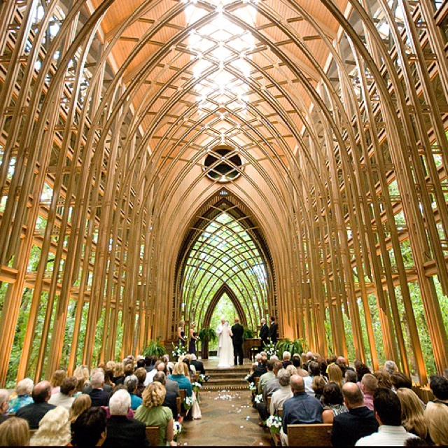 Outdoor Wedding Spots Near Me: Mildred B. Cooper Memorial Chapel In Arkansas