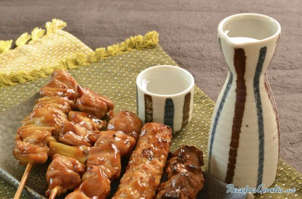 Yakitori de pollo - Aperitivo japonés