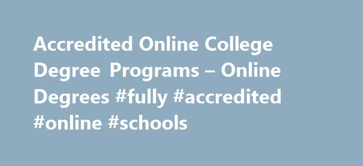 Universities with online degree options
