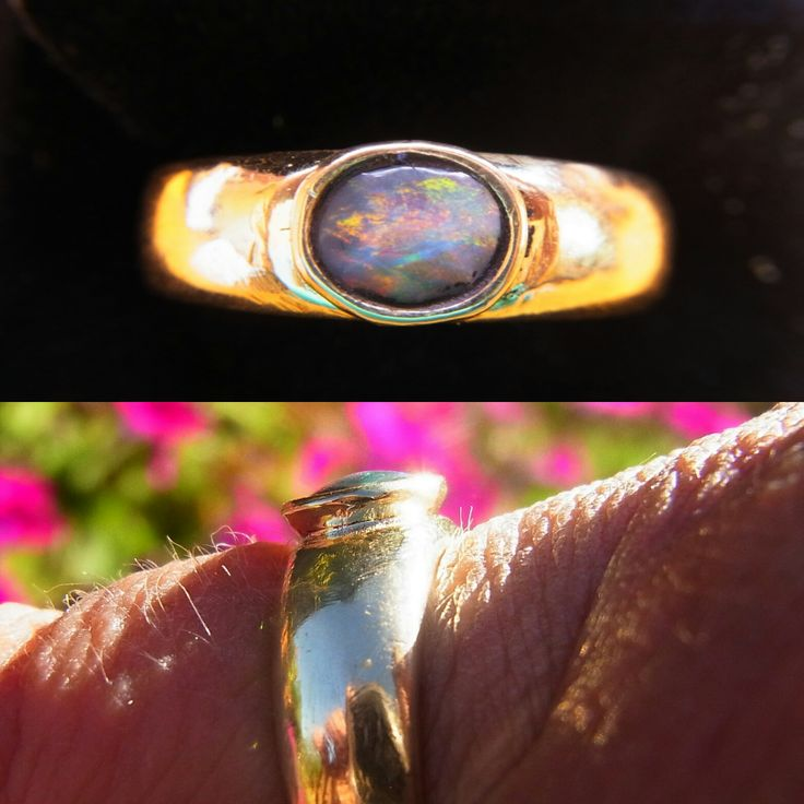 Just sold to Colorado this 9 carat gold ring with a fabulous Lightning Ridge Solid Opal. see www.gemniopals.com.au and click on 'Online Store.