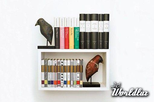 Oryginalne pomysły na domową biblioteczkę - Domowa biblioteczka to dla wielu osób nieodzowny element wyposażenia, bez któ... - WorldLux.pl - uwolnij marzenia - Nowości ze świata luksusu