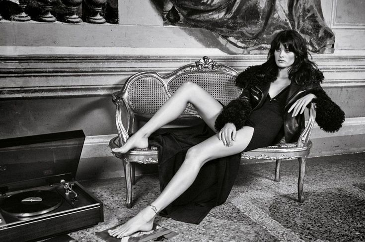 Isabeli Fontana stars in Redemption Chopper's fall-winter 2015 campaign