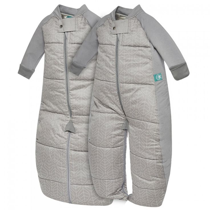 ergoPouch Winter Sleepsuit Bag (3.5 tog) - Grey