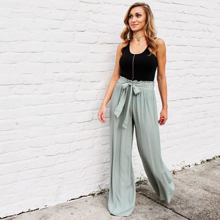Back to the grind in our all time favorite pants! (Shop this look at the link in bio) . . . . . . . #sage #girlpants #cutie #summer #shop #onlineshopping  #onlineboutique #new #newarrival #lookswelove #lotd #shopitnow #instaoutfit #instadaily #whattowear #ootd #instafashion #fashion #style #trendy #boutique #obsessed #currentlywearing #fashionaddict #shoppingday #shopaholics #thatsdarling  #styleblogger #styleinspo #whatiwore