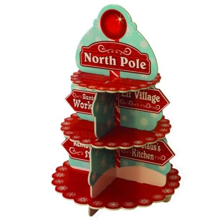 North Pole treat stand CHRISTMAS IN #HTFSTYLE