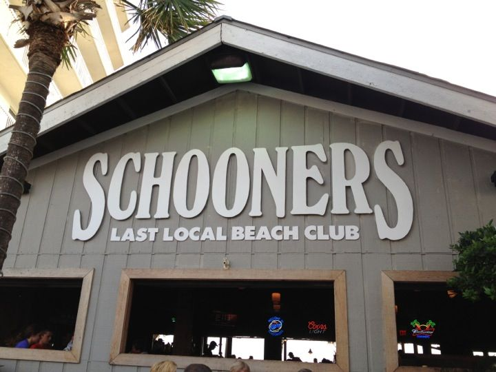 Located directly on the beach Schooners is the place in Panama City Beach for great food, great drinks, and great sunsets.