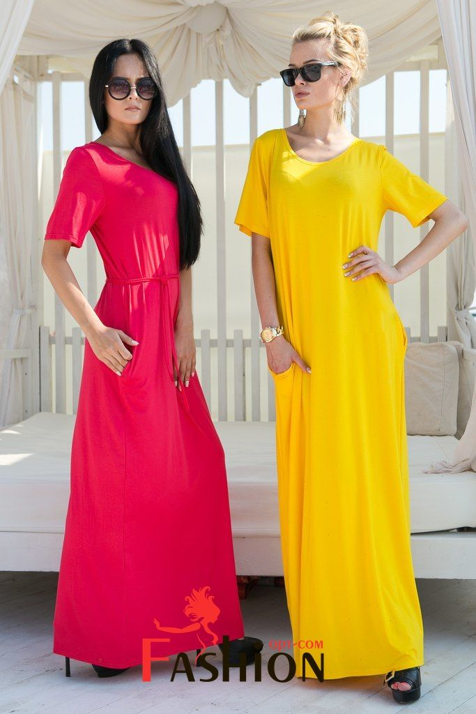 💋6️⃣7️⃣9️⃣руб💋 Платье-футболка в пол 7017 Производитель: FIRST WOMAN Ткань: Вискоза Длина: Макси Размеры: универсальный (42-44-46). Цвета: желтый, красный, зеленый, синий, оранжевый, бирюзовый.
