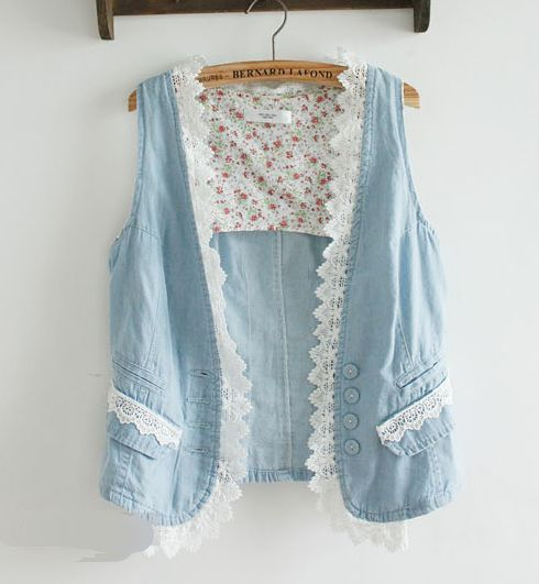 Aliexpress.com : Buy 2012 New Special Design Embroidery Vintage Pattern Short Casual Denim Vest Jean Jacket,Fashion Women Spring Autumn Jean...