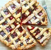 Cseresznyés pite Zelleitündi módra