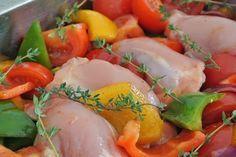 Kleverige kip uit de oven van Jamie Oliver - SimKookt