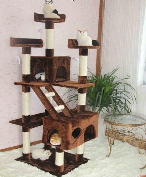 Трехмерная кошачьих туалетов кошка лазалки многослойная дерево от кошачьих царапин доска(China (Mainland))