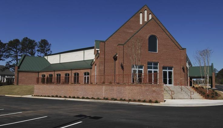 Riverstone Church, Kennesaw, Georgia, New construction of a 50,000 square foot worship center that includes an 820-seat multi-purpose sanctuary with video/sound production capabilities.  The church also includes a youth ministry area, two large multi-purpose fellowship halls, nursery rooms, outdoor playground, catering kitchen, and administrative offices. DON'T SEEM TO BE AFFLIATED WITH ANY DENOMINATION. ASSOCIATES WITH CONTROVERSIAL GRAHAM COOKE WHO SOME CLAIM IS A FALSE PROPHET