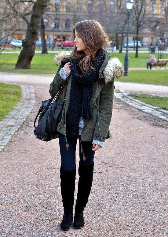 Love this for winter! I like the bag--probably because it's the size of a small suitcase ;]